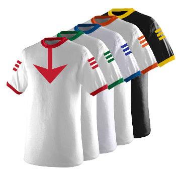 Star Blazers Space Battleship Yamato Uniform T-shirt All Colors [] - $17.95  Qtgraphics.com